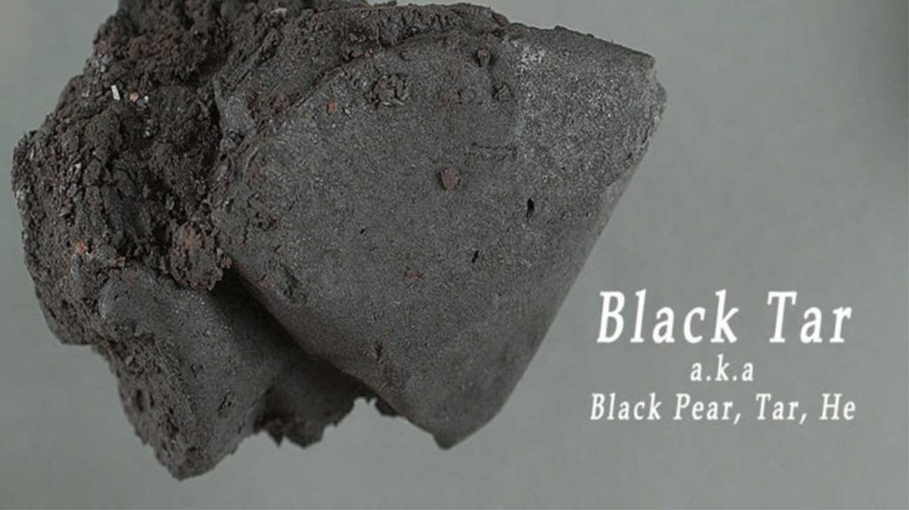 Black Tar Heroin - Types Of Heroin