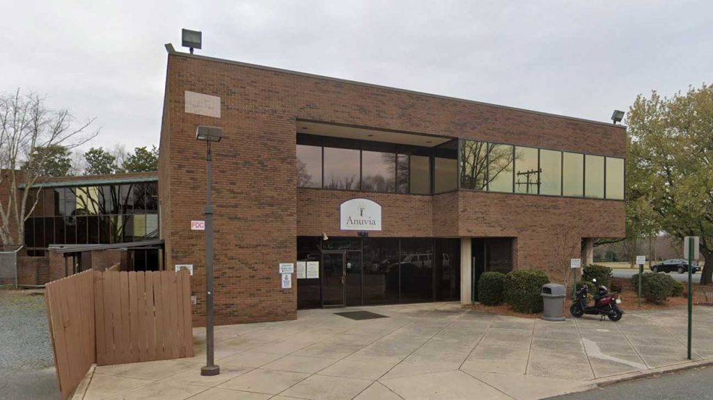 Anuvia Prevention & Recovery Center - Charlotte, North Carolina Alcohol And Drug Rehab Centers